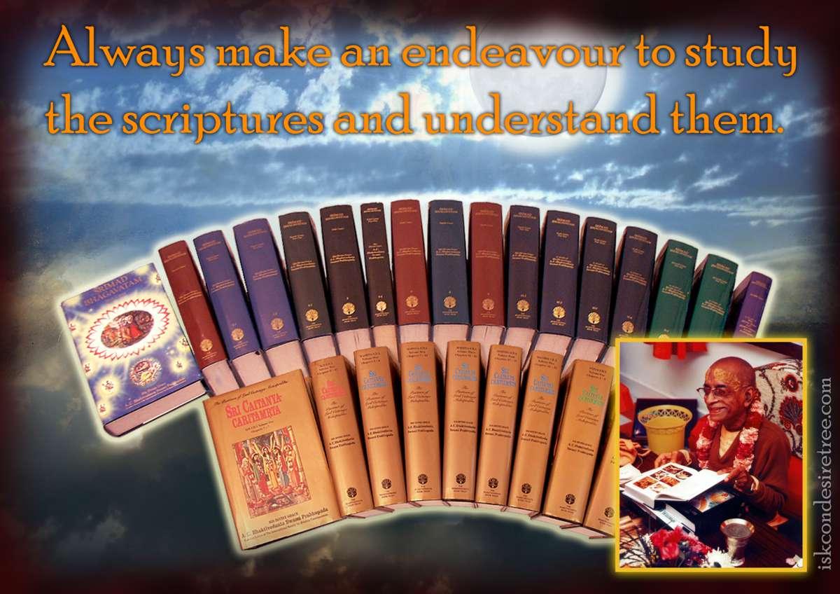 Bhakti Charu Swami on Understanding the Scriptures