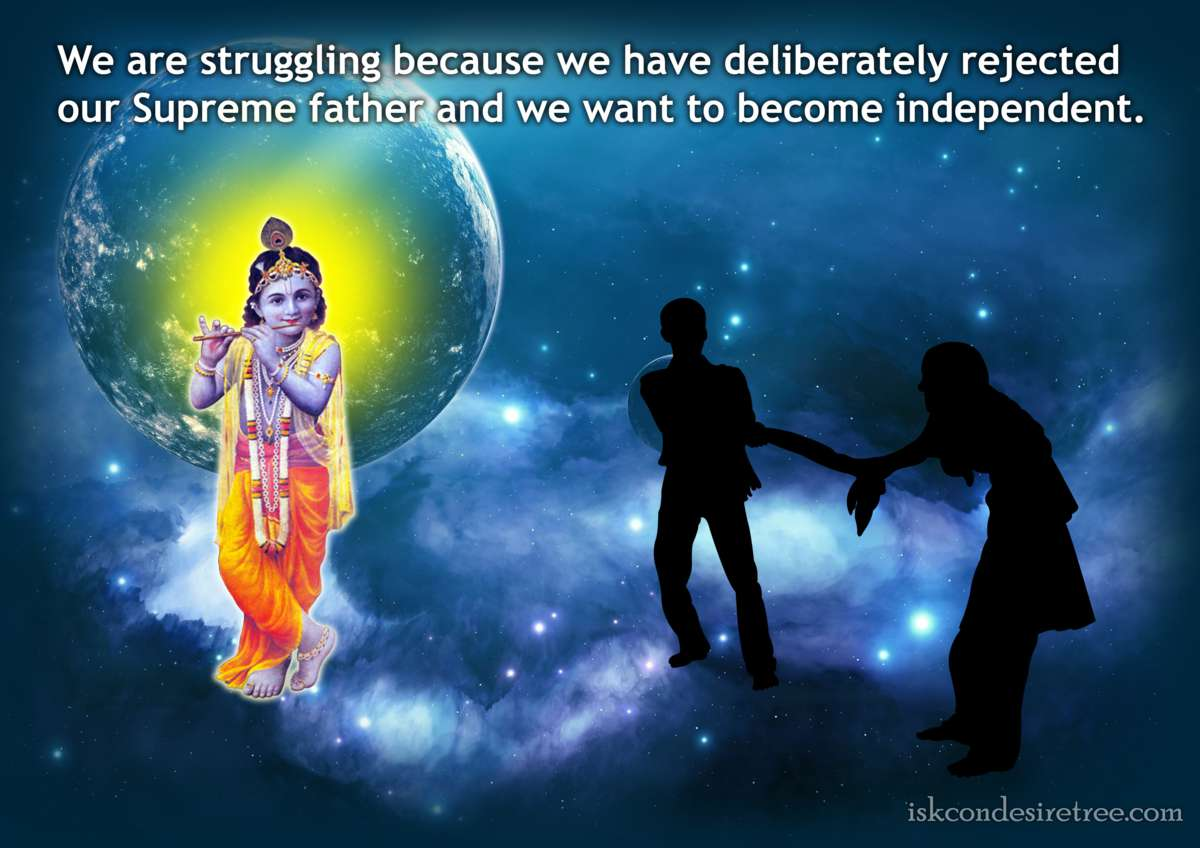 Bhakti Charu Swami on Why Are We Struggling
