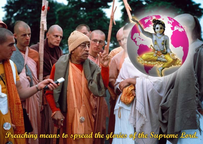 Bhakti Swarup Damodar-Swami on Meaning of Preaching