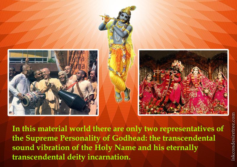 Bhaktisiddhanta Sarasvati Thakura on Representatives of The Supreme Personality of Godhead