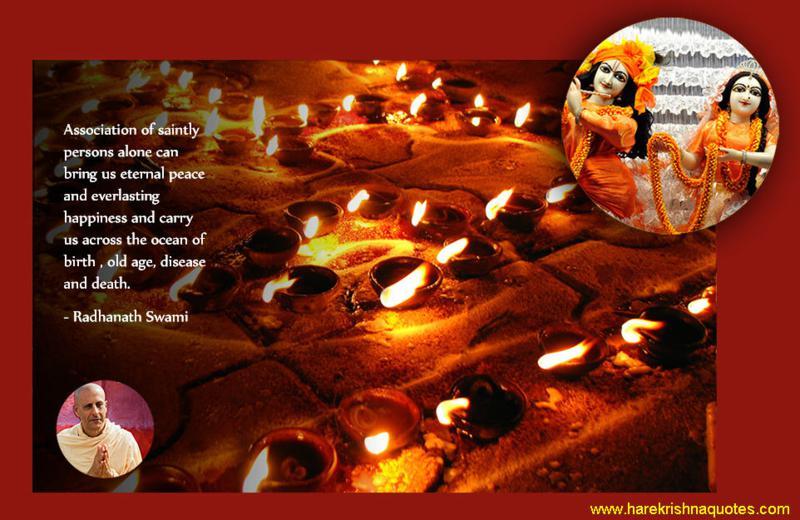 Radhanath Swami on Association