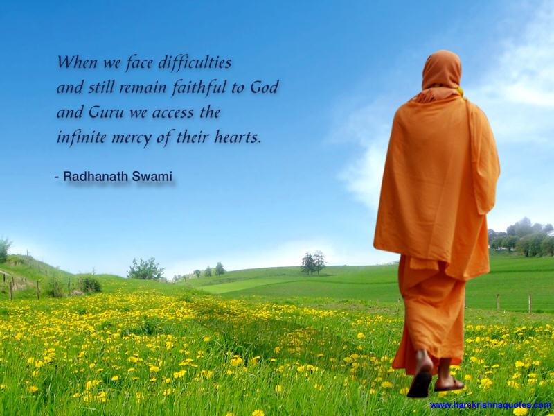 Radhanath Swami on Faithfulness