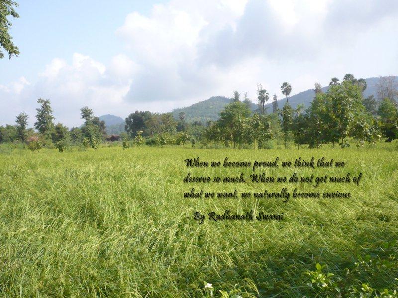 Radhanath Swami on Pride