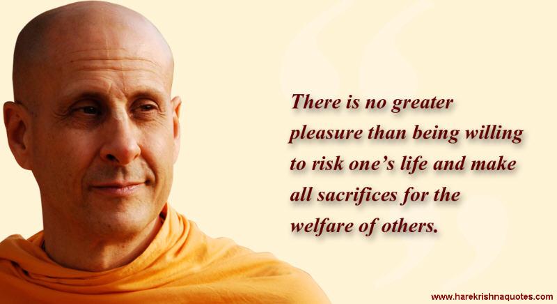 Radhanath Swami on Welfare