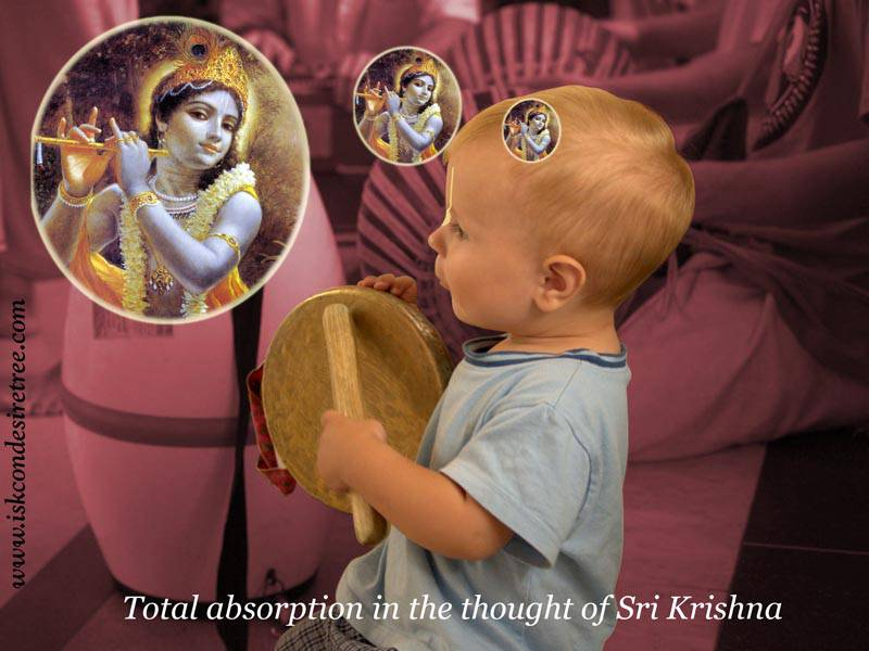 Quotes by Srila Prabhupada on Absorbing Children's Mind