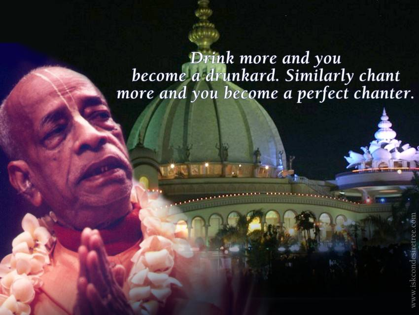 Quotes by Srila Prabhupada on Becoming A Perfect Chanter