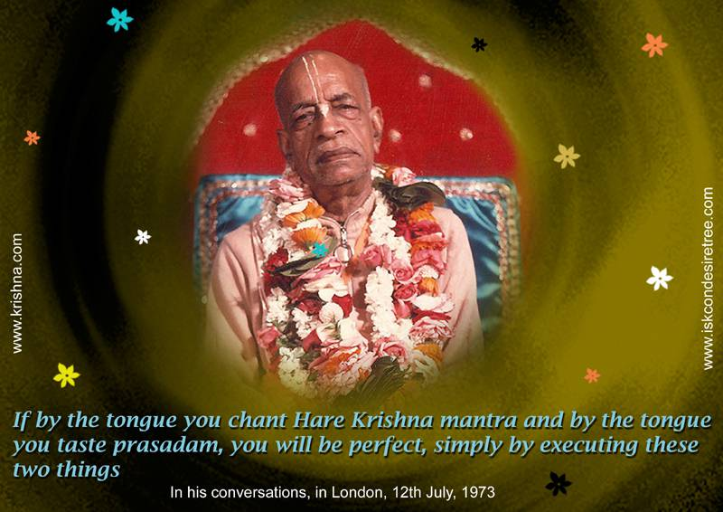 Quotes by Srila Prabhupada on Becoming Perfect