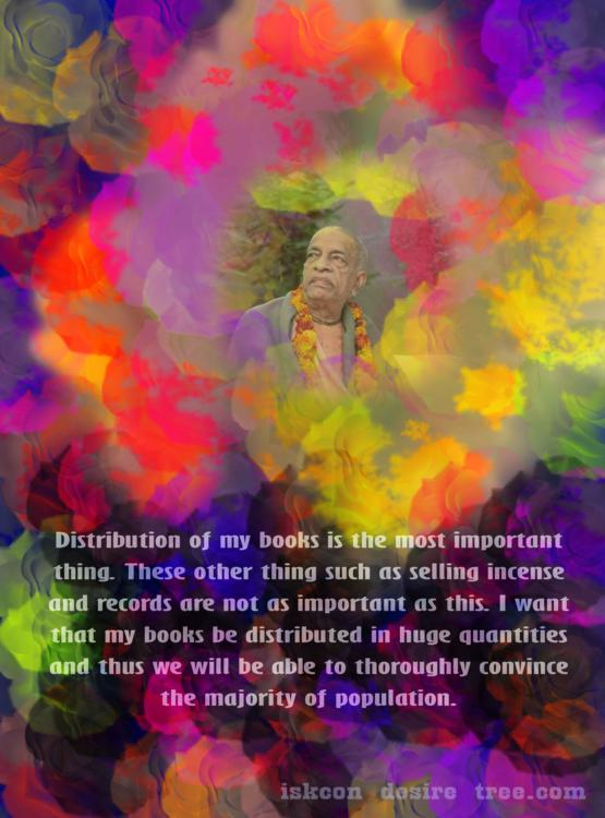 Quotes by Srila Prabhupada on Book Distribution - The Most Important Thing