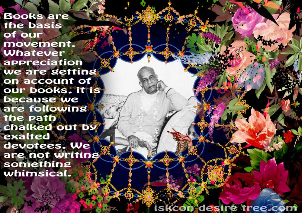 Quotes by Srila Prabhupada on Books - Basis of Our Movement