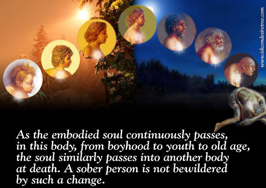 Quotes by Srila Prabhupada on Changes of An Embodied Soul