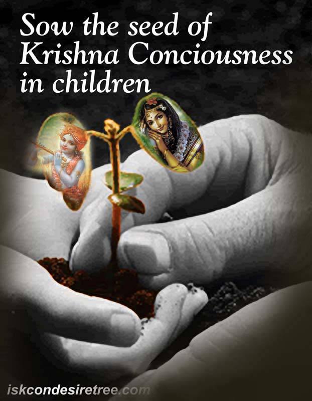 Quotes by Srila Prabhupada on Children