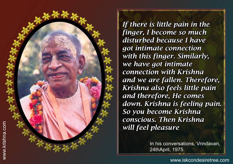 Quotes by Srila Prabhupada on Connection With Krishna