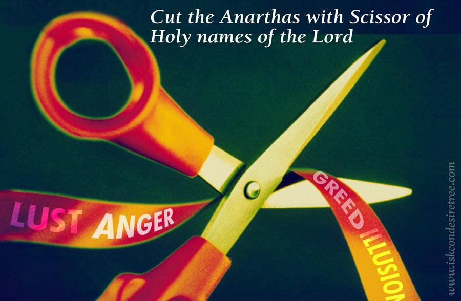 Quotes by Srila Prabhupada on Cutting The Anarthas