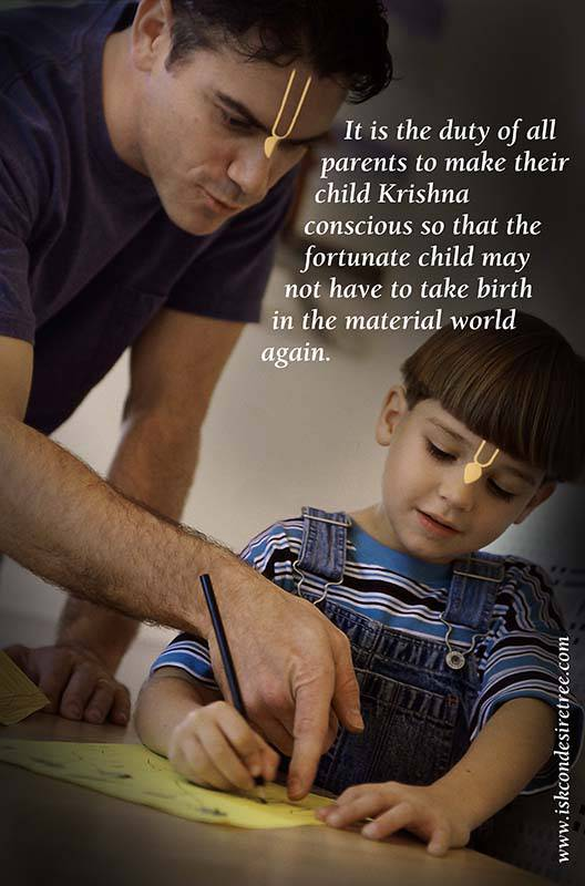 Quotes by Srila Prabhupada on Duty of All Parents