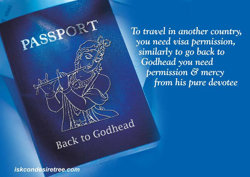 Quotes by Srila Prabhupada on Eligibility For Going Back To Godhead