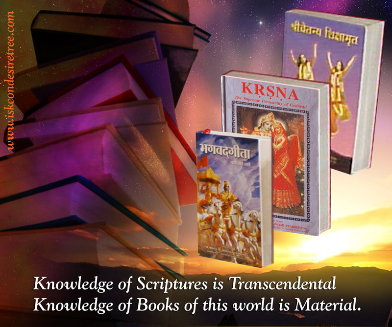 Quotes by Srila Prabhupada on Knowledge of Scriptures