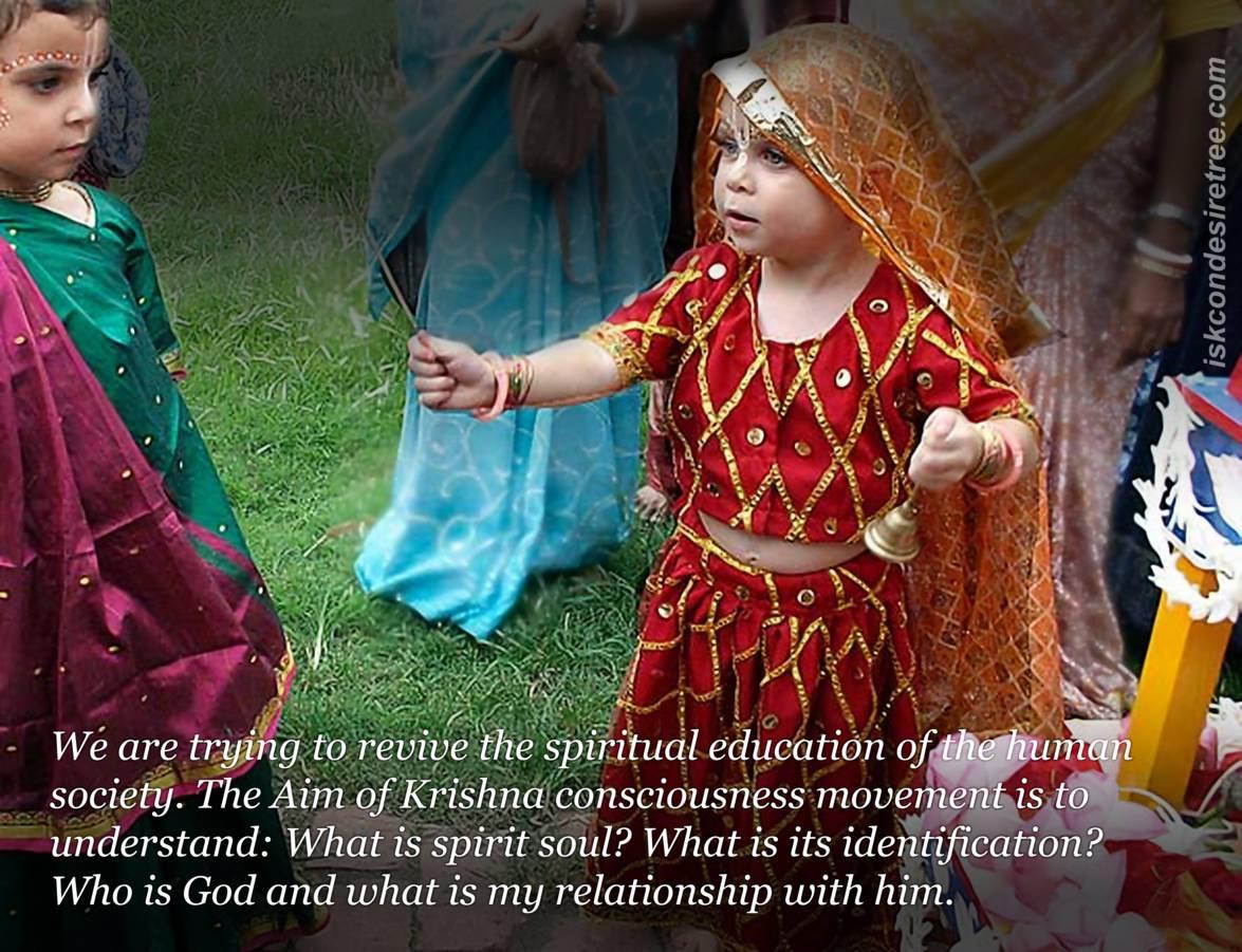 Quotes by Srila Prabhupada on Krishna Consciousness Movement