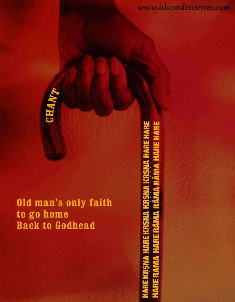 Quotes by Srila Prabhupada on Old Man's Only Faith