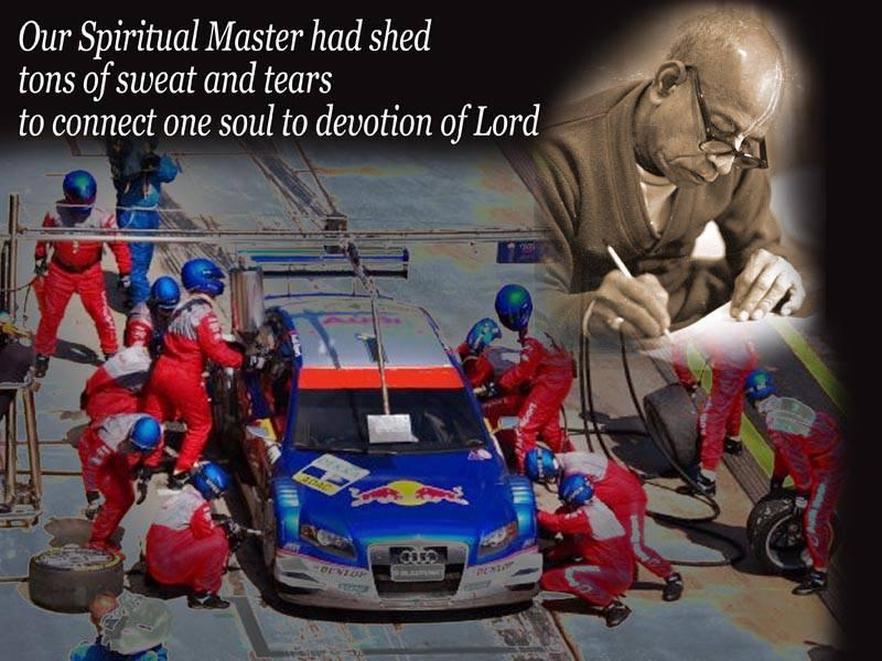Quotes by Srila Prabhupada on Our Spiritual Master