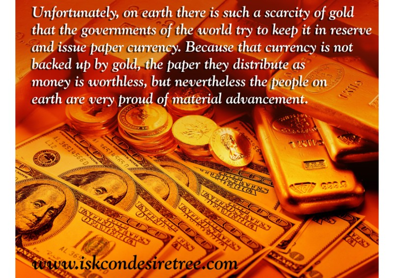 Quotes by Srila Prabhupada on People Being Proud of Material Advancement