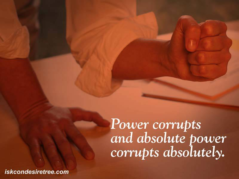 Quotes by Srila Prabhupada on Power