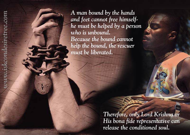 Quotes by Srila Prabhupada on Release of The Conditioned Soul