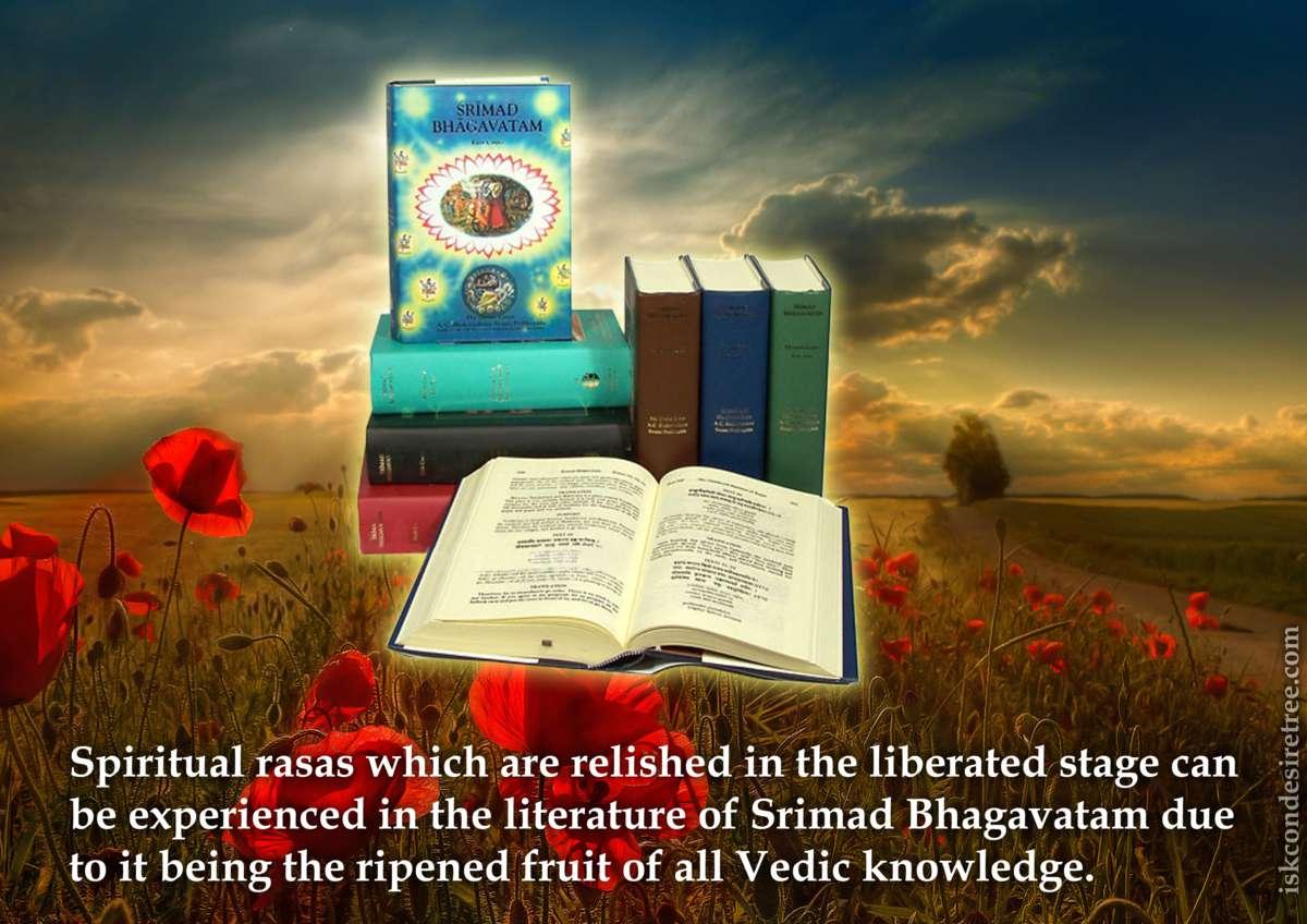 Srila Prabhupada on Relishing Spiritual Rasas