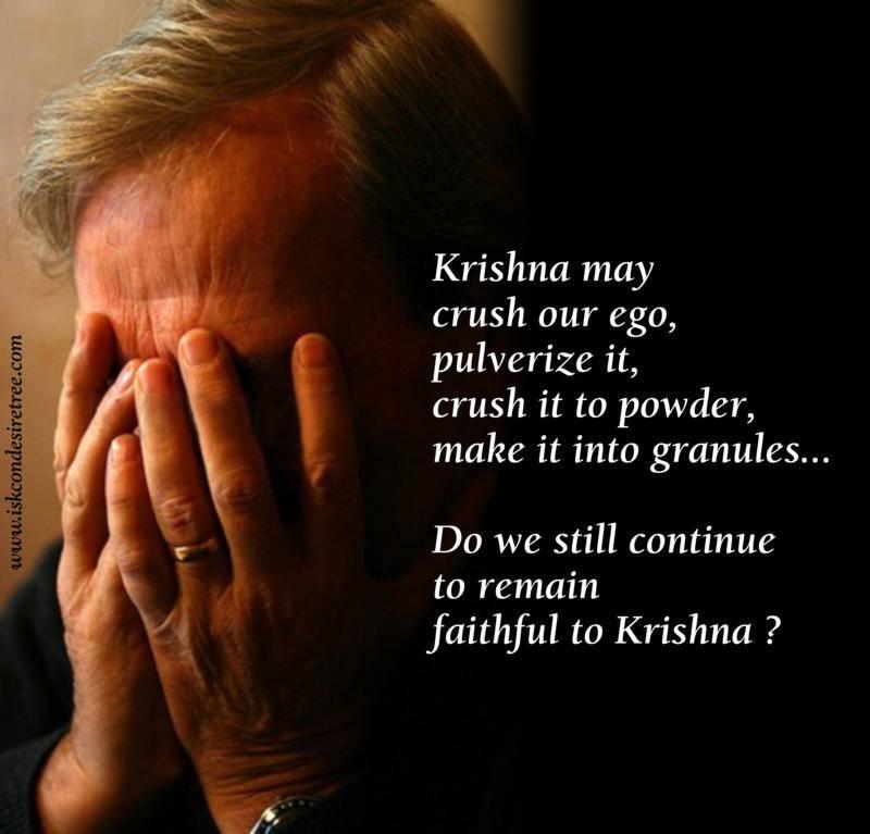 Quotes by Srila Prabhupada on Remaining Faithful to Krishna