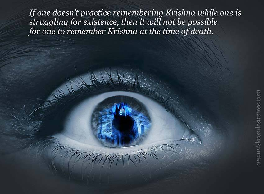 Quotes by Srila Prabhupada on Remembering Krishna At The Time of Death