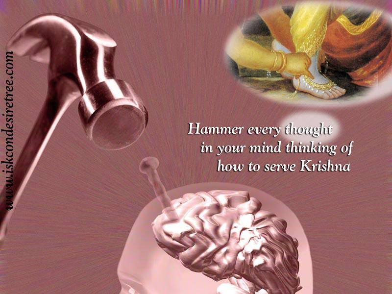 Quotes by Srila Prabhupada on Serving Krishna