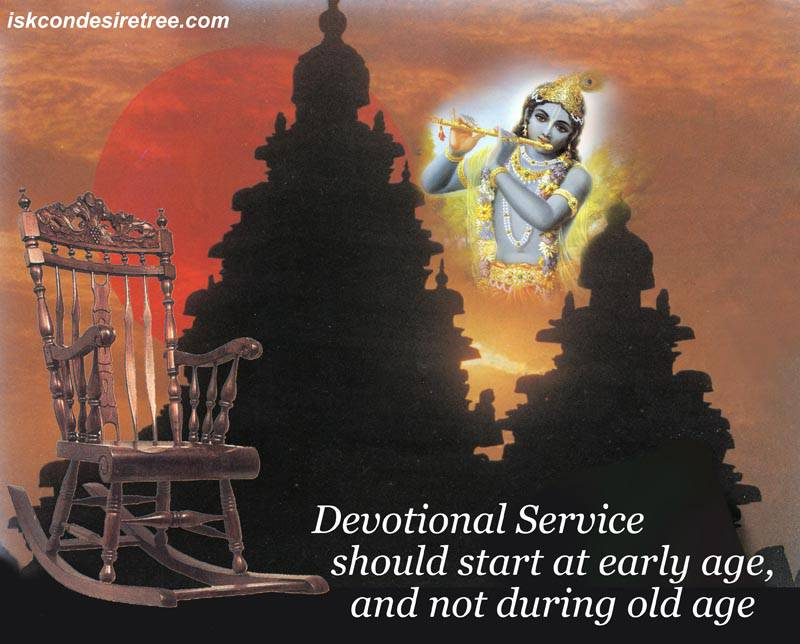 Quotes by Srila Prabhupada on Starting of Devotional Service