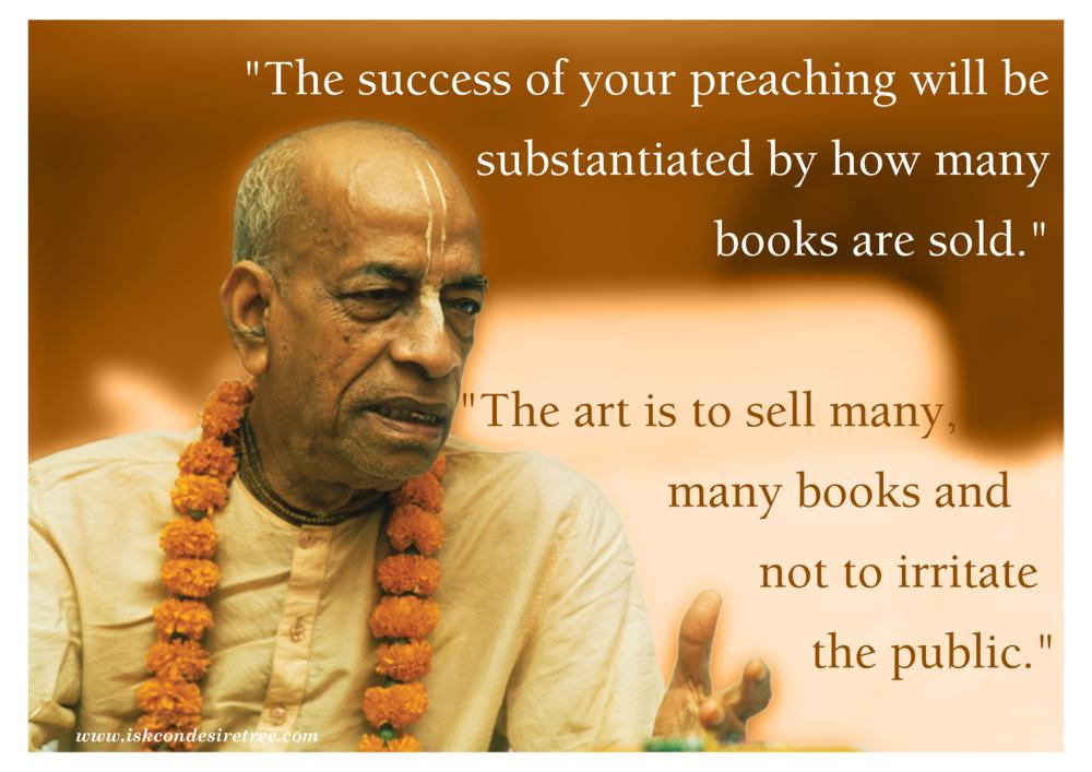 Quotes By Srila Prabhupada On Success Of Preaching Spiritual