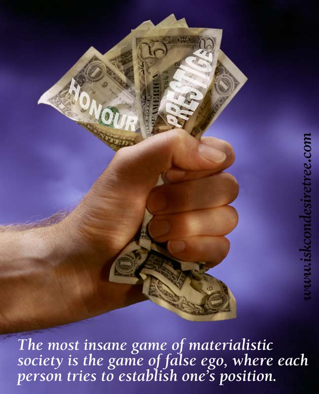 Quotes by Srila Prabhupada on The Most Insane Game of Materialisic Society