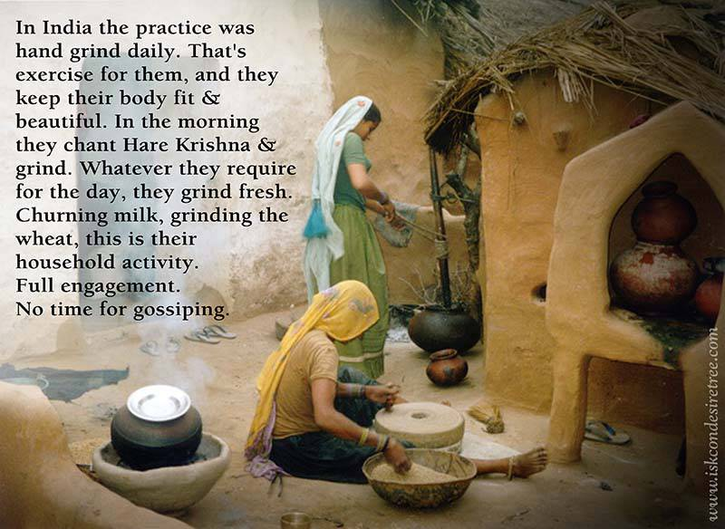 Quotes by Srila Prabhupada on The Practice in India