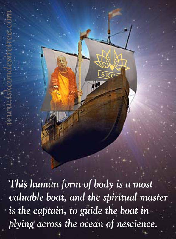 Quotes by Srila Prabhupada on The Role of The Spiritual Master