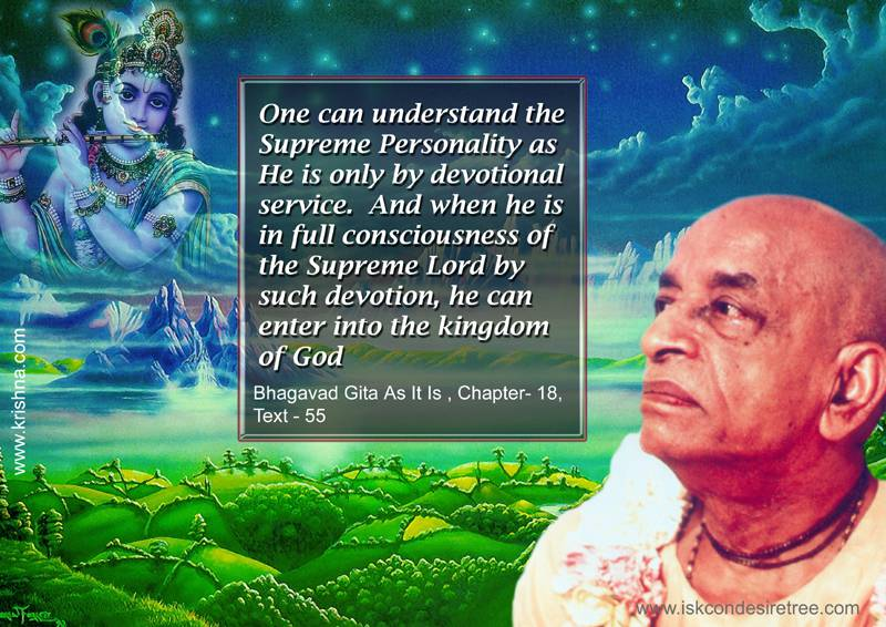 Quotes by Srila Prabhupada on Understanding The Supreme Lord
