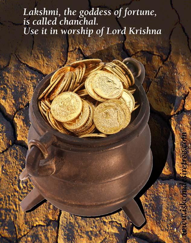 Quotes by Srila Prabhupada on Using Lakshmi in The Service of Krishna