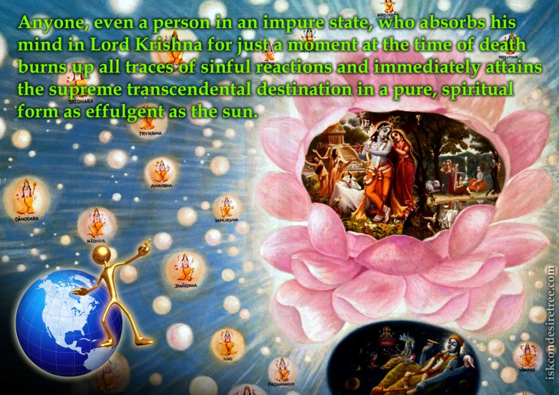 Srimad Bhagavatam on Attaining The Supreme Transcendental Destination