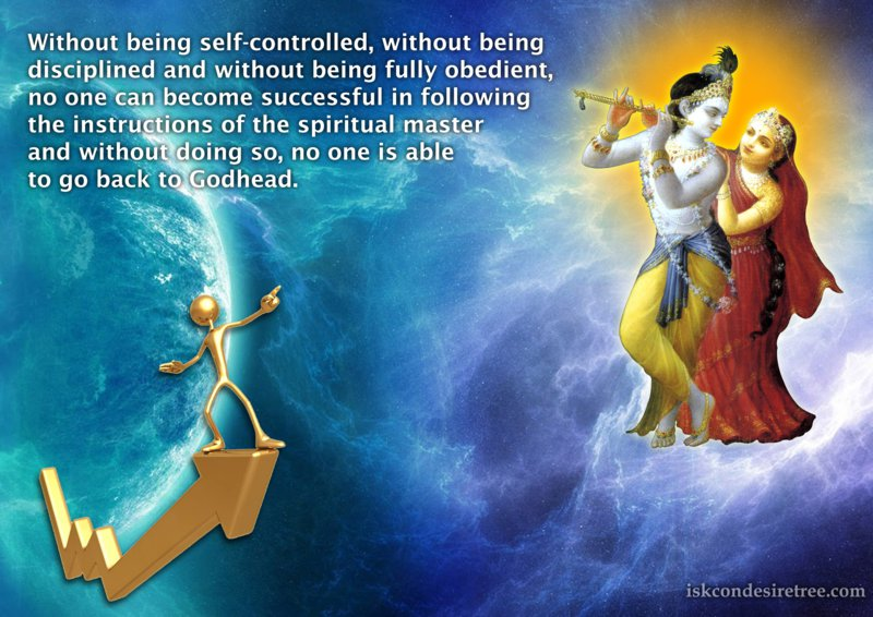 Srimad Bhagavatam on Significance of Being Self Controlled
