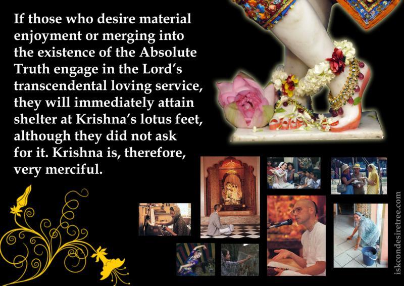 Chaitanya Caritamrta on Krishna's Mercy
