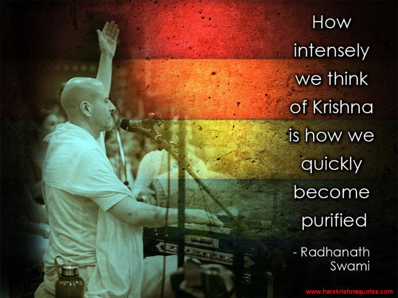 Radhanath Swami on Becoming Purified