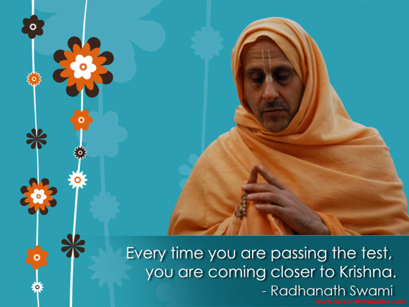 Radhanath Swami on Coming Closer to Krishna
