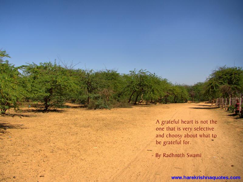 Radhanath Swami on Grateful Heart