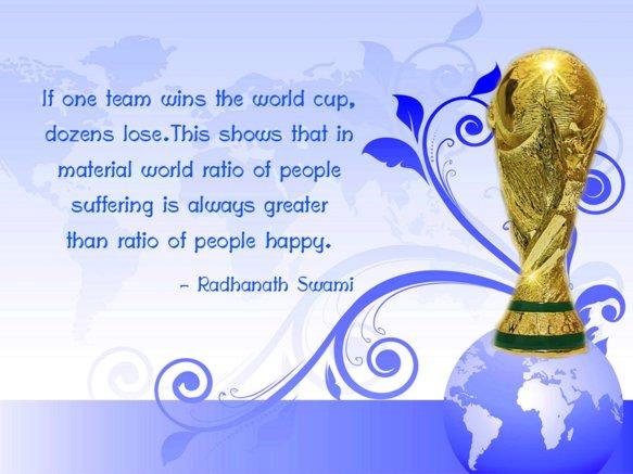 Radhanath Swami on Material World