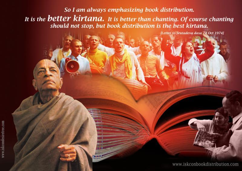 Srila Prabhupada on Book Distribution - The Best Kirtana
