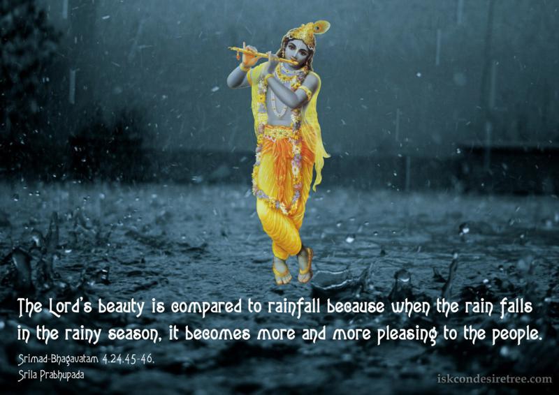 Srimad Bhagavatam on Beauty of The Lord