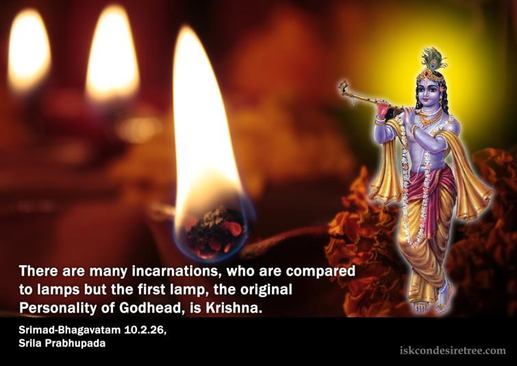 Quotes by Srimad Bhagavatam on Lord Krishna – The Original Personality of Godhead
