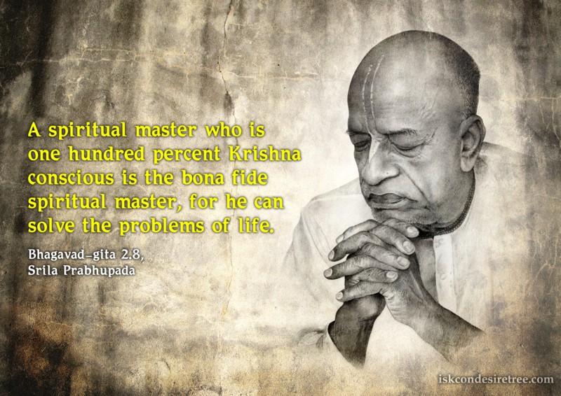 Srila Prabhupada on Bonafide Spiritual Master
