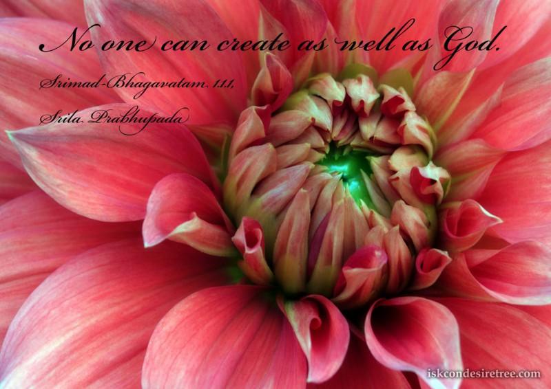 Srila Prabhupada on Creation of God