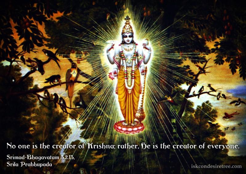 Srila Prabhupada on Creator of Everyone